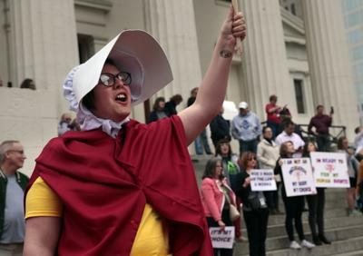 Hundreds rally for abortion rights, against near-total ban