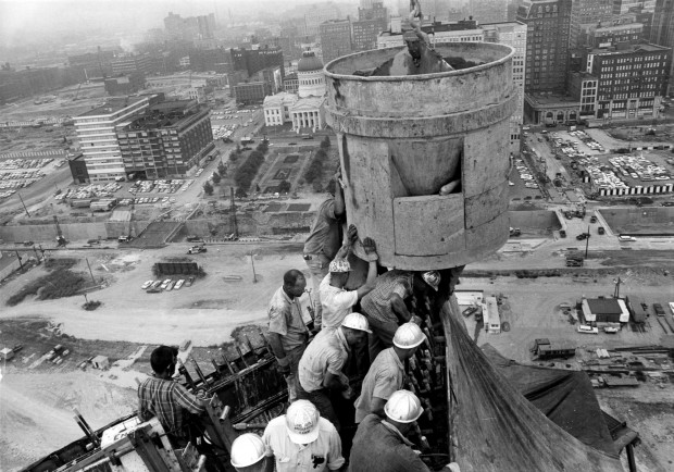 A Look Back Gateway Arch Construction News