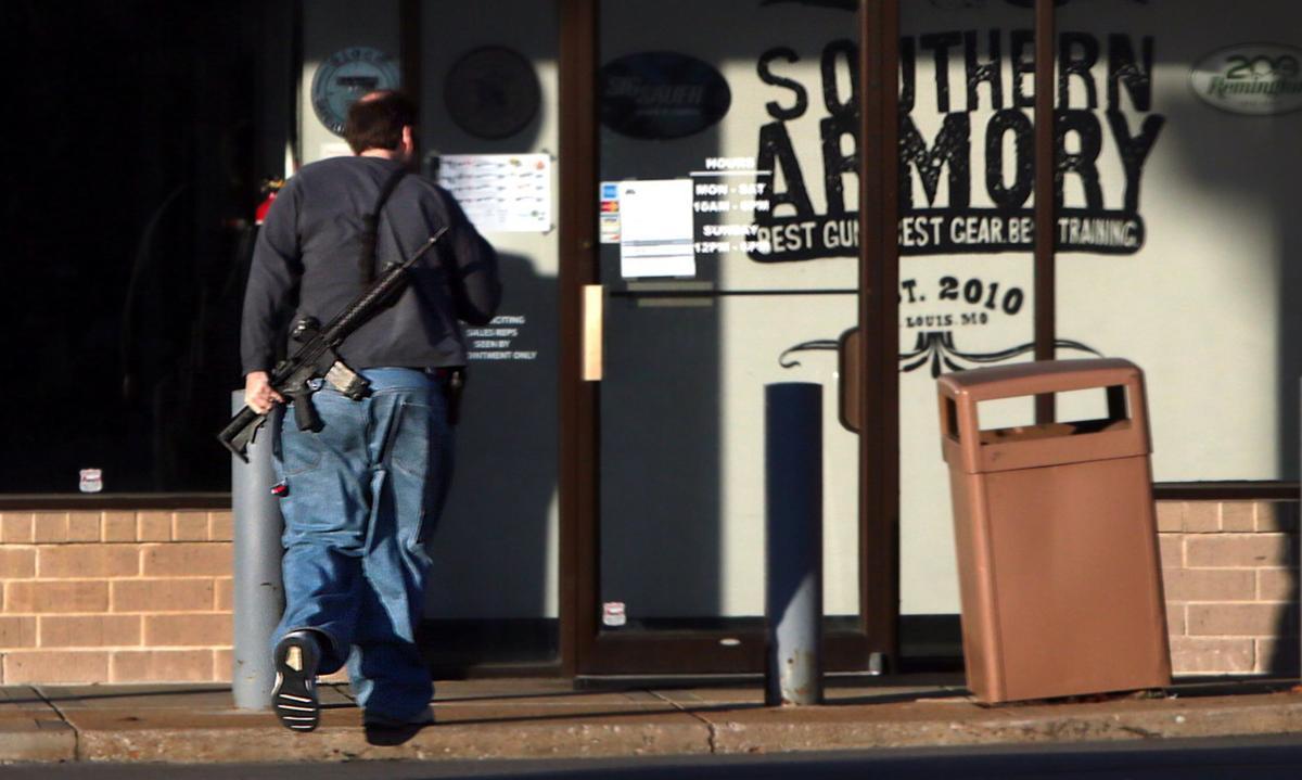 Crestwood gun store burglarized