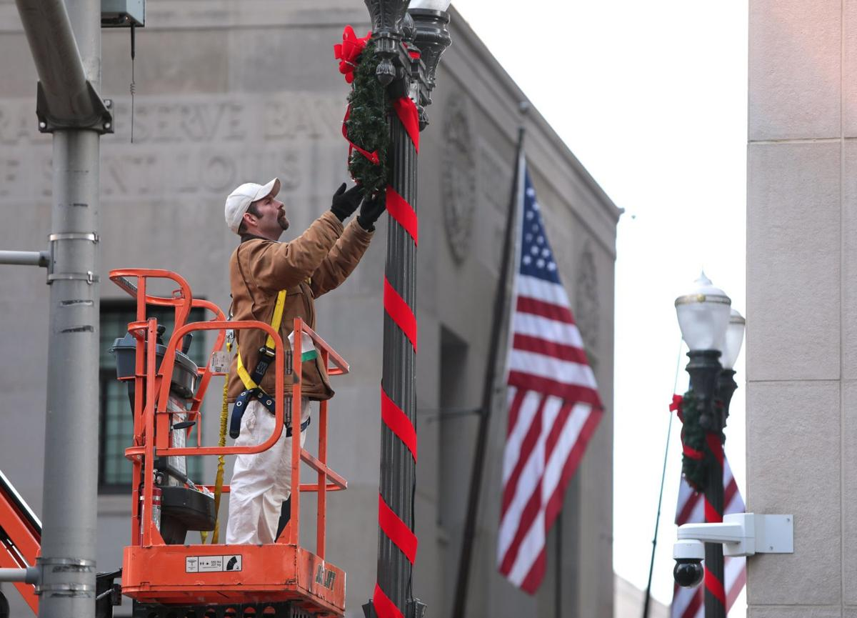 Photo: Getting ready for the holiday season