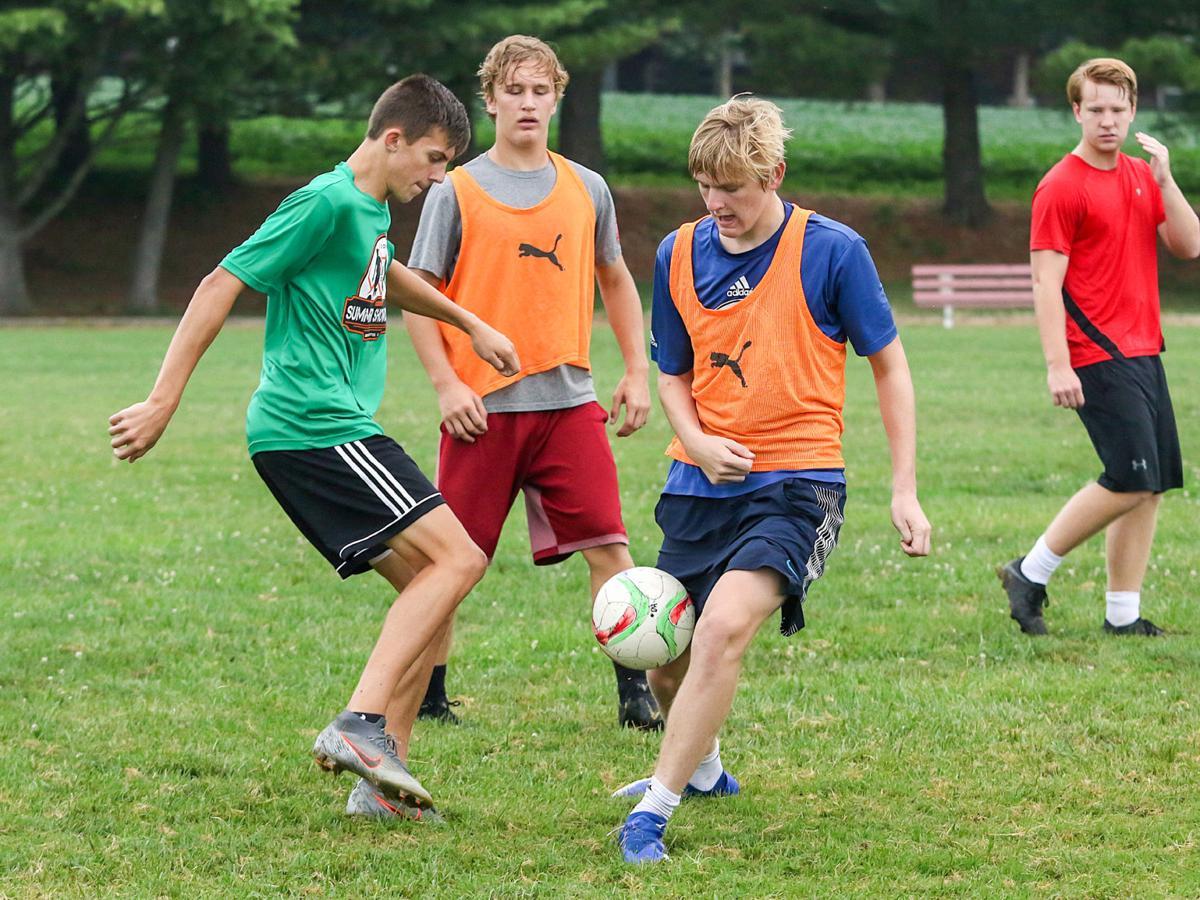 Gibault soccer practice