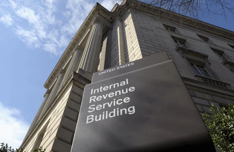Internal Revenue Service building in Washington