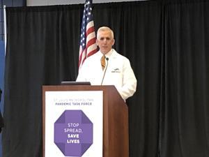 St. Louis coronavirus task force dikatakan pemimpin yang dekat dengan 470 dirawat di rumah sakit lokal dengan COVID-19
