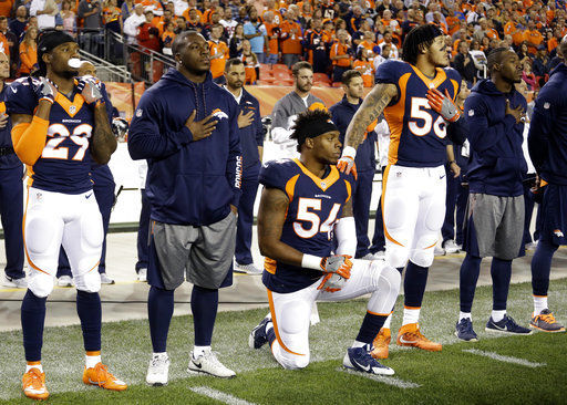 National Football League players deciding whether, and if so how, to protest