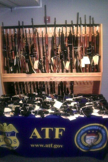 Guns bought or seized in ATF operation