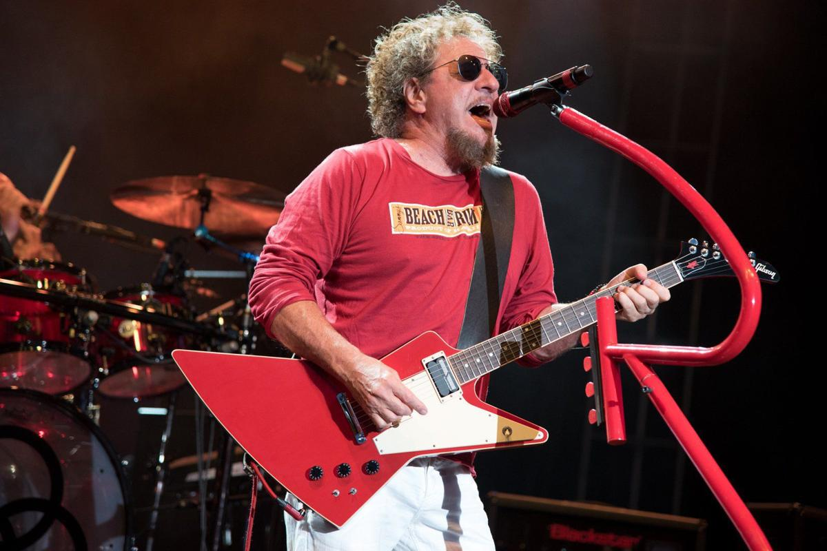 Sammy Hagar and the Circle at Fair St. Louis in Forest Park
