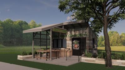 EarthDance Organic Farm School stand