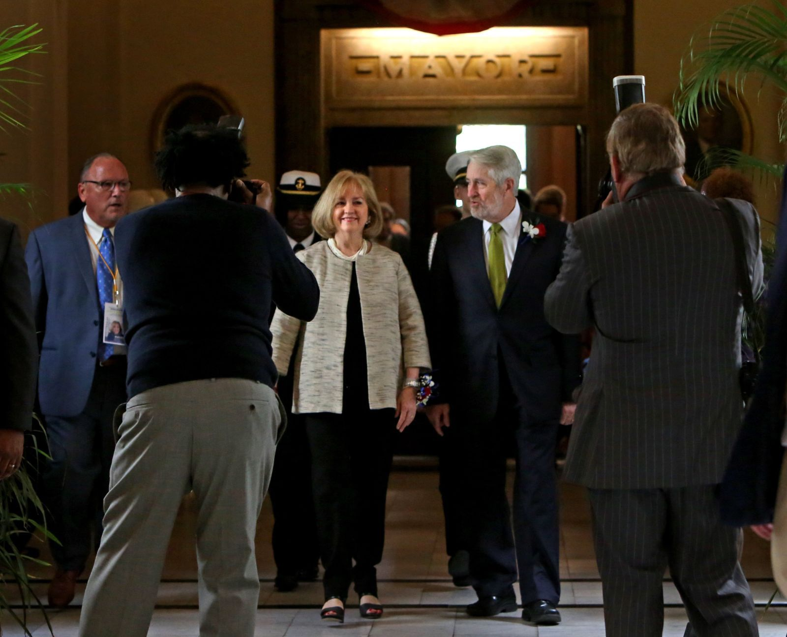 Krewson Sworn In As St. Louisu0027 46th And First Female Mayor