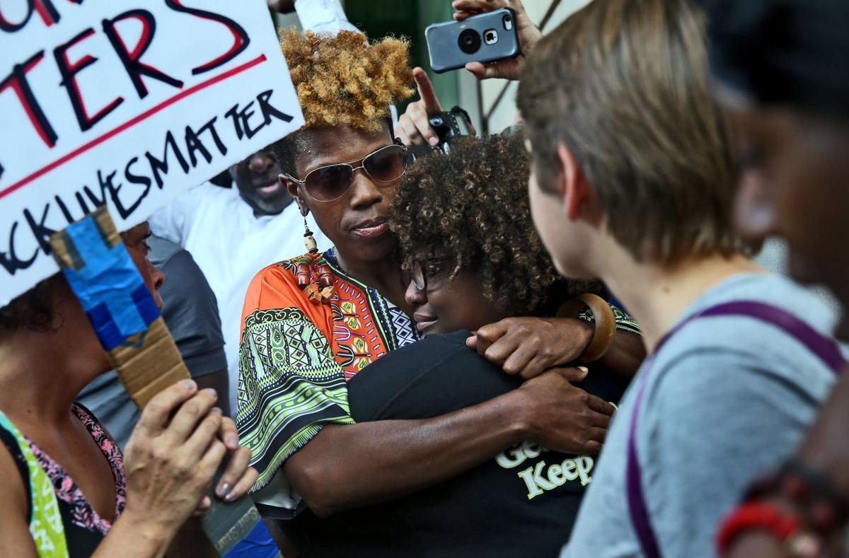 Galleria protesters released from jail