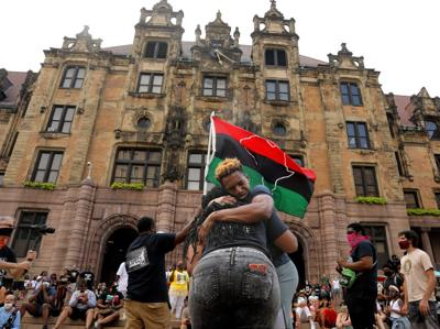 Juneteenth rally in downtown St. Louis