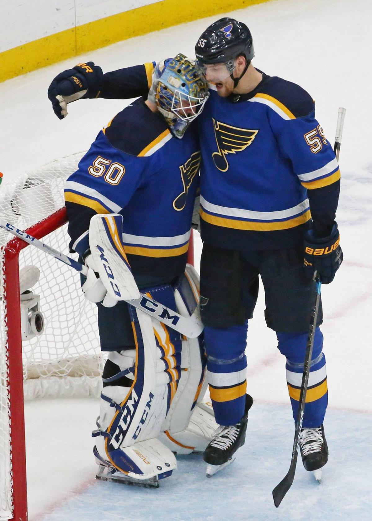 Photos: St. Louis Blues defeat Sharks to tie Western Conference Final series