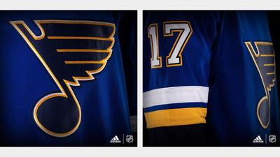 Blues  new home jerseys feature white numbers  04c2829b6