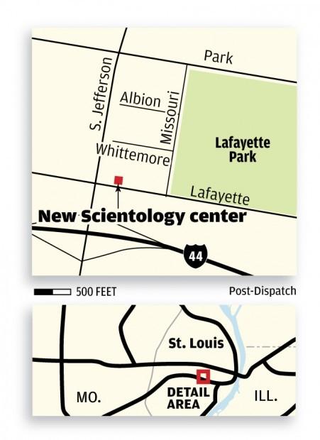 New Scientology center