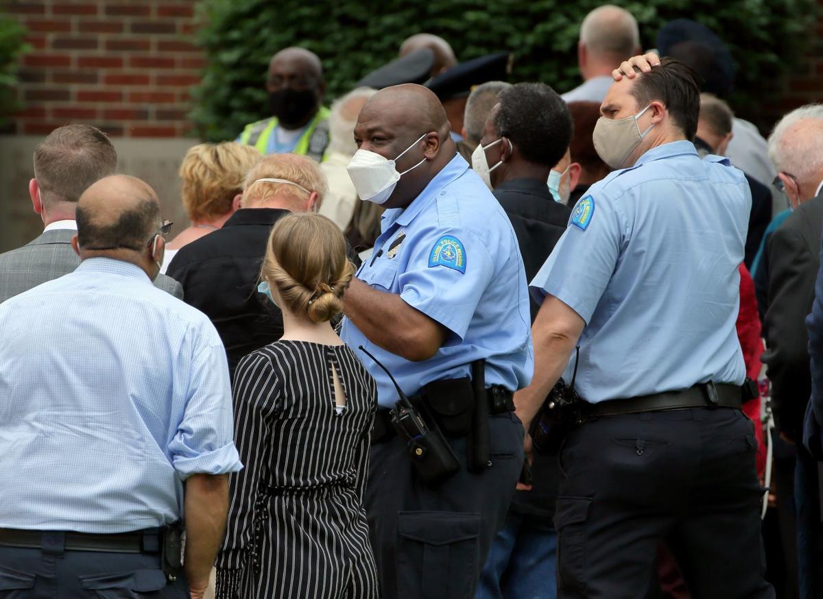 Visitation for retired St. Louis police captain David Dorn