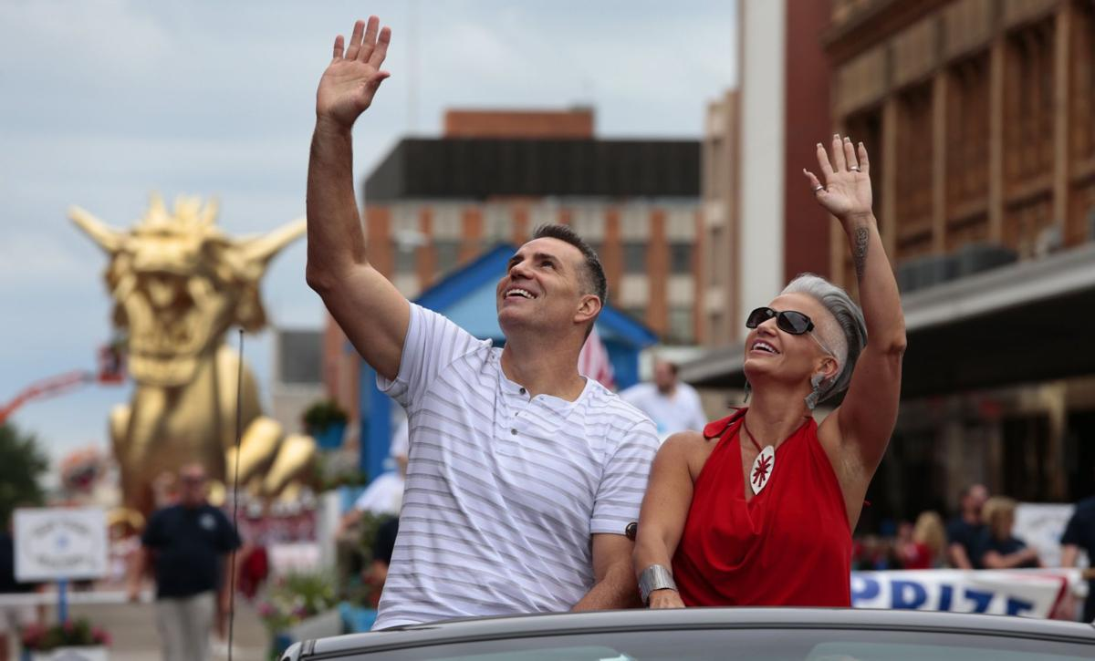 The Warners roll in the Hall of Fame grand parade