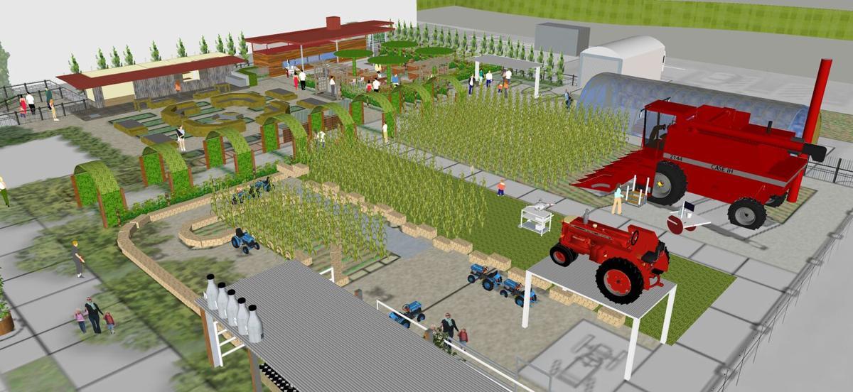 St. Louis Science Center's permanent exhibit GROW