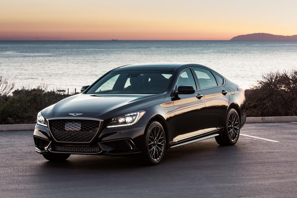 2018 Genesis G80 Sport This former Hyundai goes uptown with an