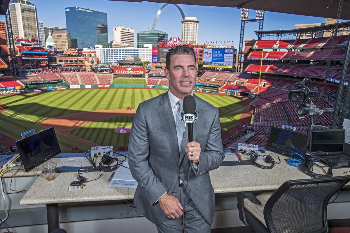 Jim Edmonds at Fox Sports Midwest