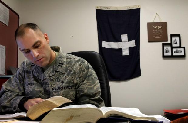 Scott AFB chaplain prepares for deployment