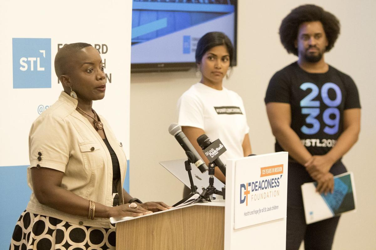 Photos: Forward Through Ferguson press conference