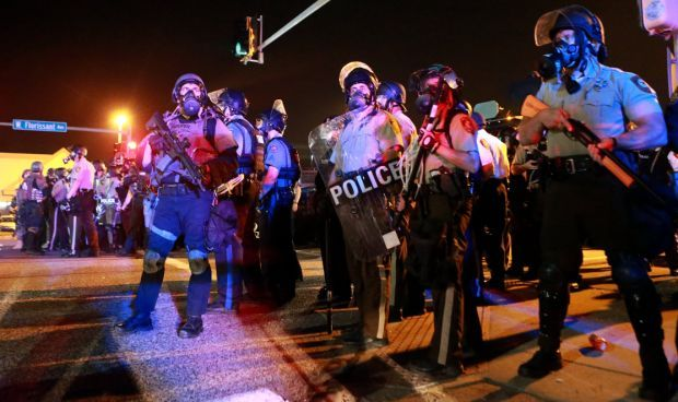 Ferguson security steps up to National Guard