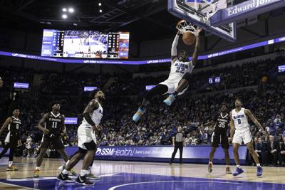 SLU battles the Bonnies