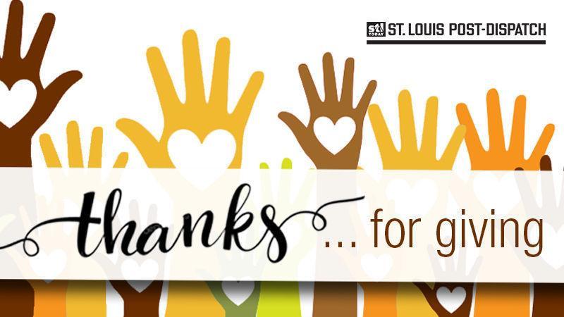 Ευχαριστώ για το δόσιμο: Ορίζει St. Louis area εθελοντής για την αναγνώριση