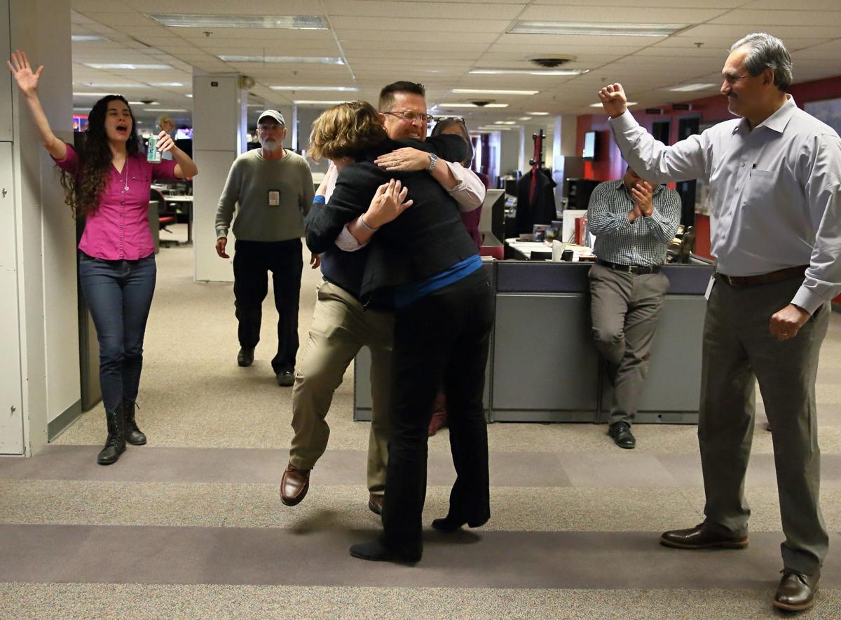 Tony Messenger St. Louis Post-Dispatch metro columnist wins Pulitzer