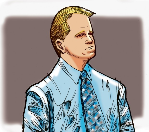 Sketch: Coleman hears verdict