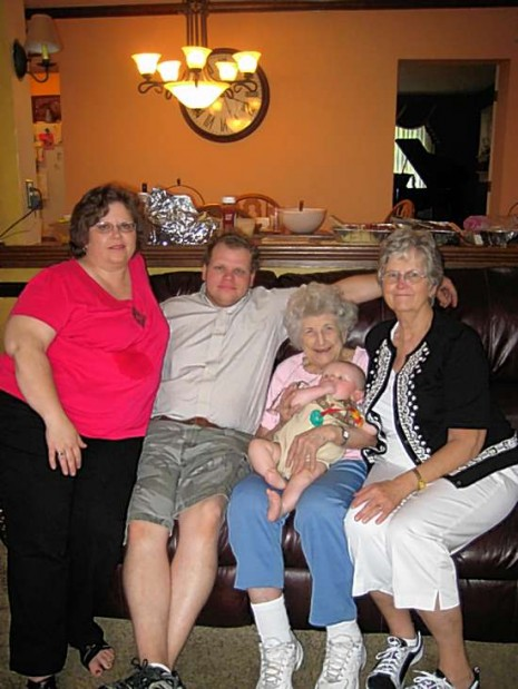 5 generations grahamwarner family