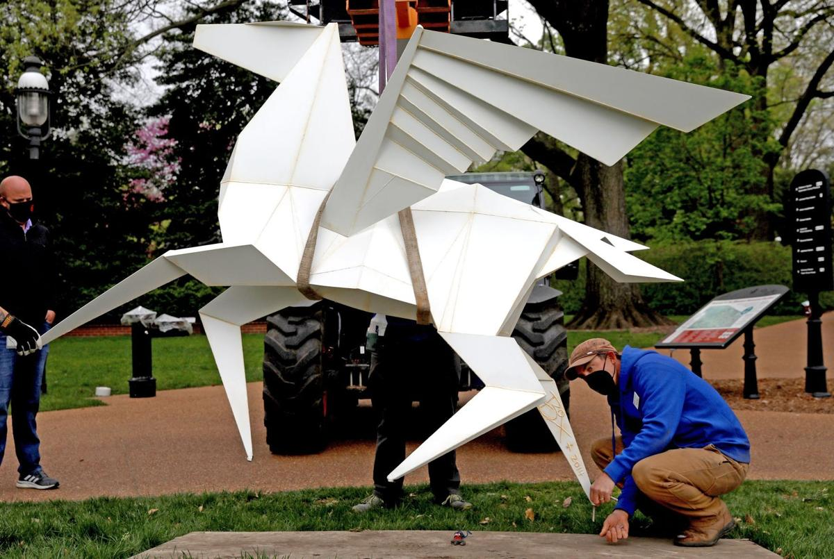 Scenes from OrigamiintheGarden