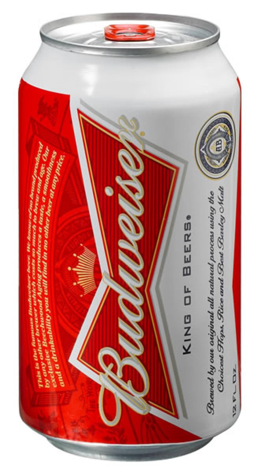 Budweiser unveils new can design  Will it goose sales? | Business