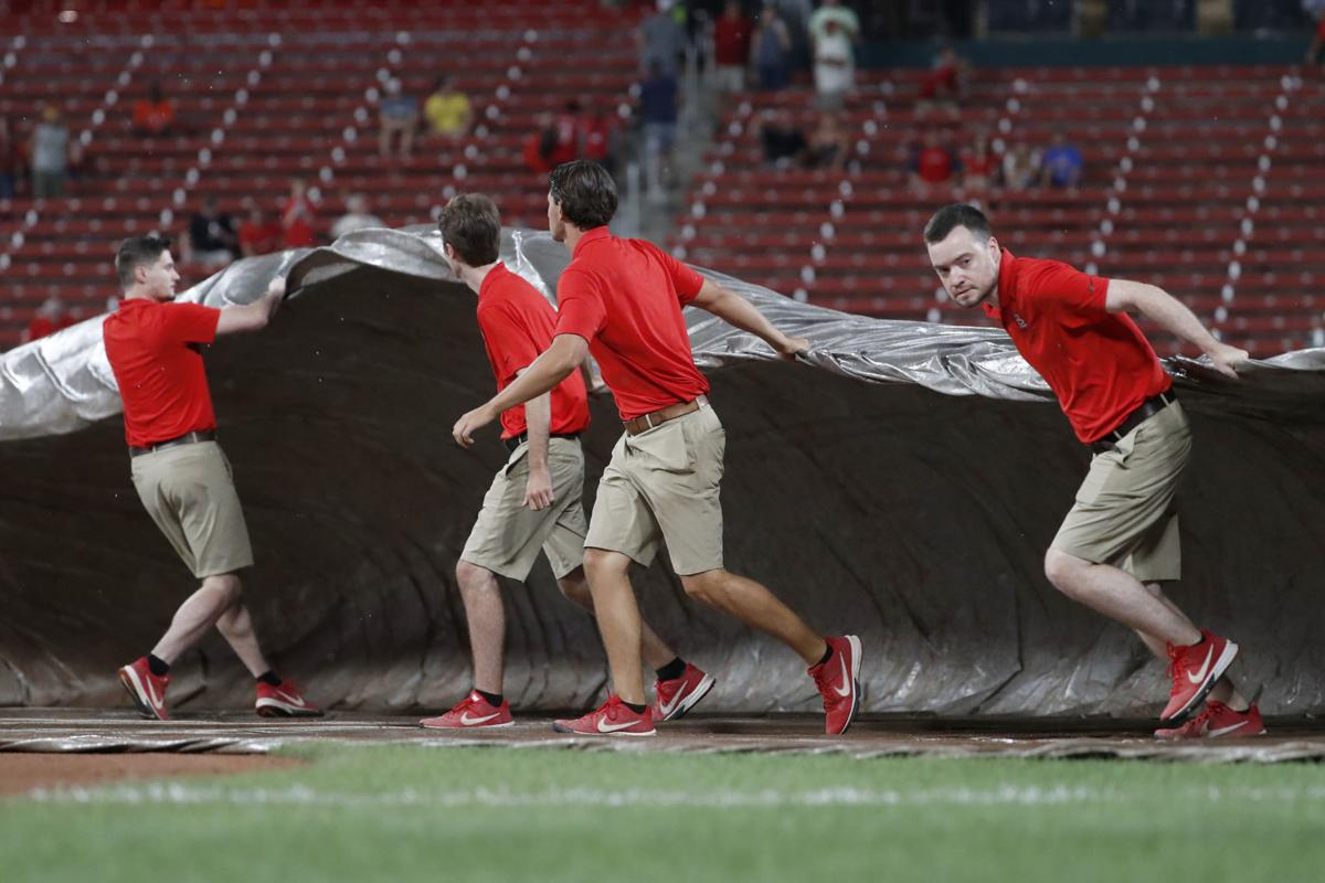 'Kind of bogus'? Cards miffed that umps call game after 7½ innings, ending their comeback bid