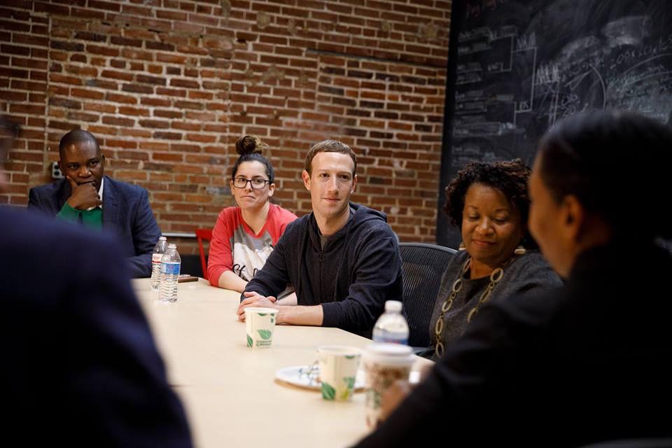 Zuckerberg in St. Louis