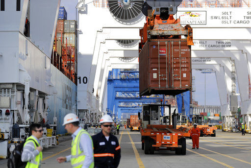 USA trade deficit widened slightly in July as exports slipped