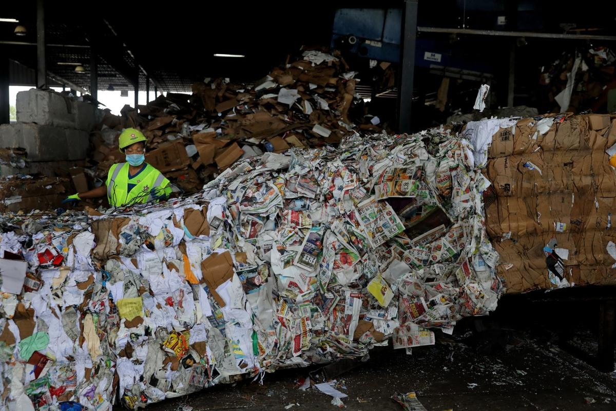 Recycling center sees increases of residential intake during coronavirus pandemic
