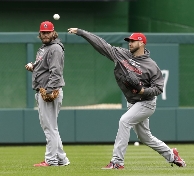 Cardinals v Nationals practice day
