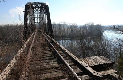 New Rails to Trails project underway in Missouri - Osage River bridge