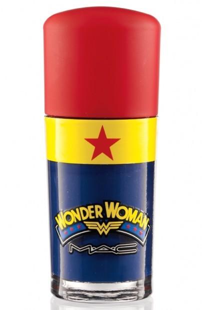 M A C Wonder Woman Nail Polish