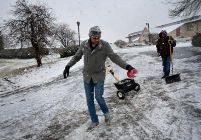 Huge multi-day rain storm ends with snow in St. Louis