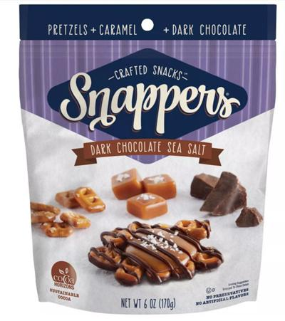 Dark Chocolate Sea Salt Snappers