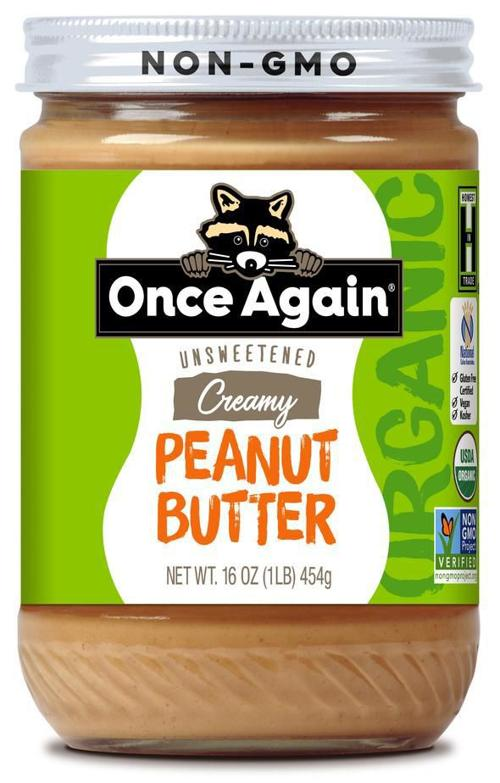 Once Again peanut butter