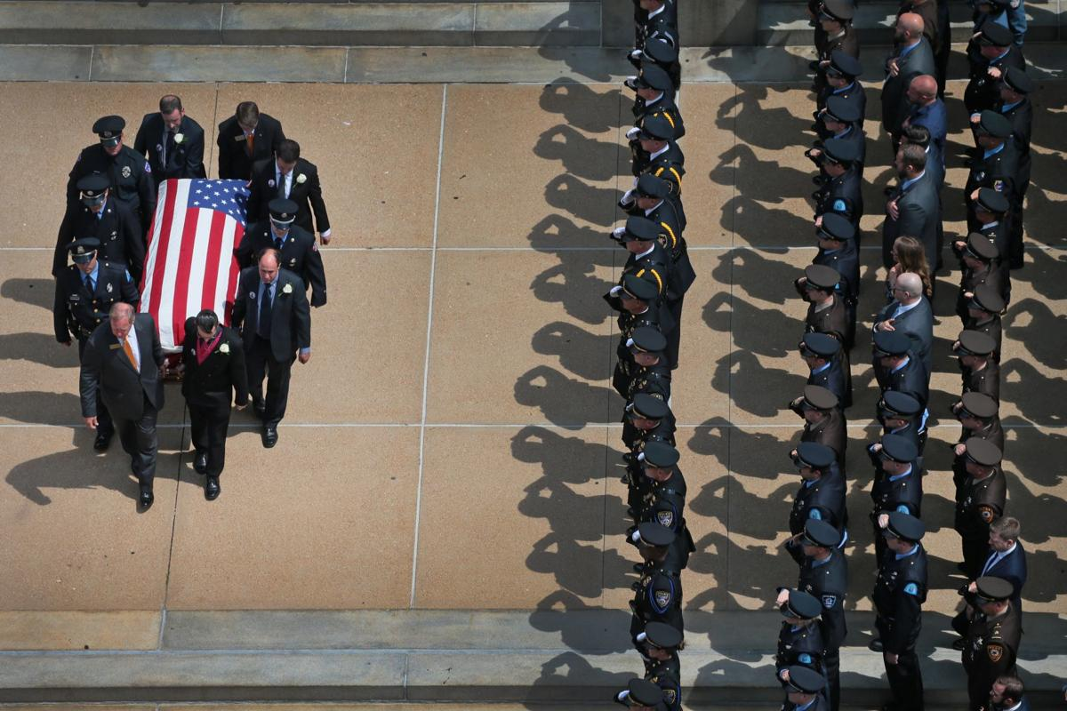 Police officer Michael Langsdorf shot, killed while on duty