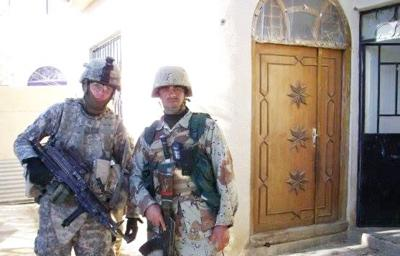 Despite PTSD, Army veteran continues to serve fellow soldiers