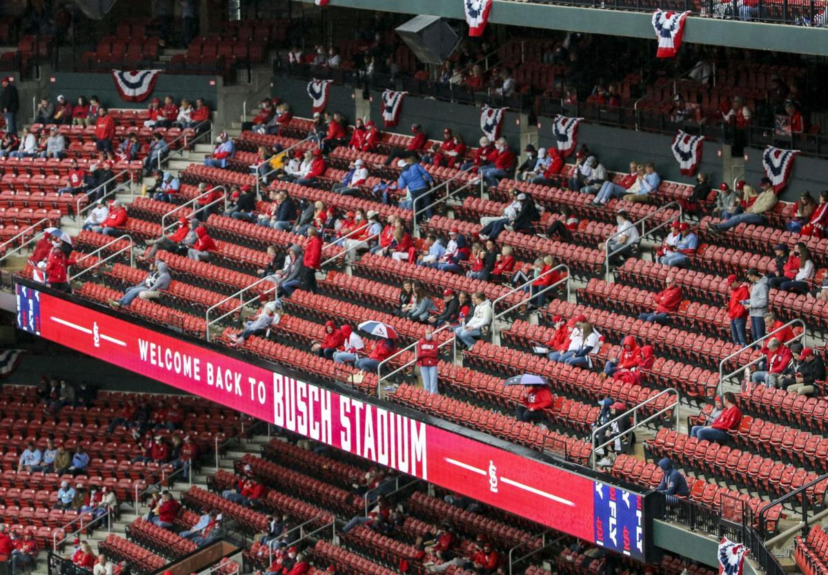 Cardinals welcome fans for 2021 home opener (copy)