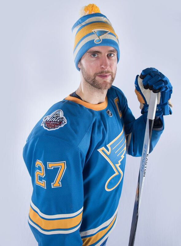 promo code b4c54 e6440 Pietrangelo calls Winter Classic sweater 'a great look ...