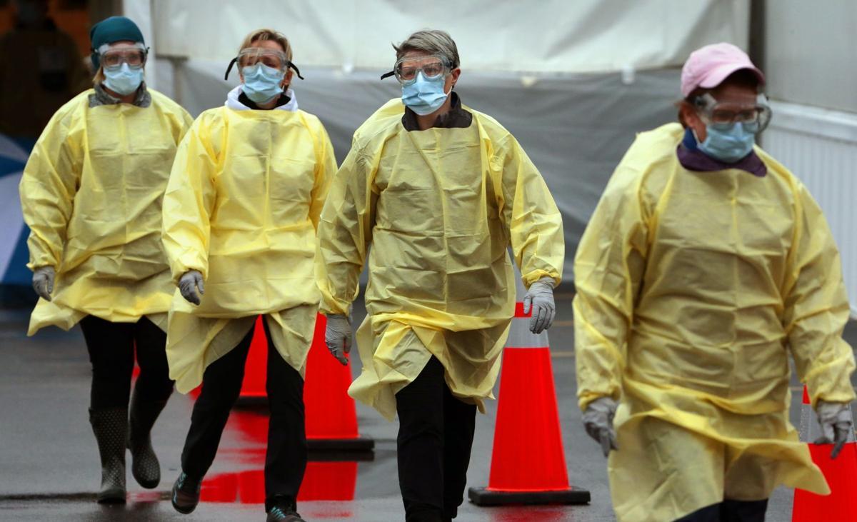 Coronavirus testing site open in Chesterfield