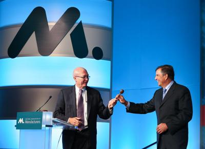 Emerson's Farr elected chair of the National Association of