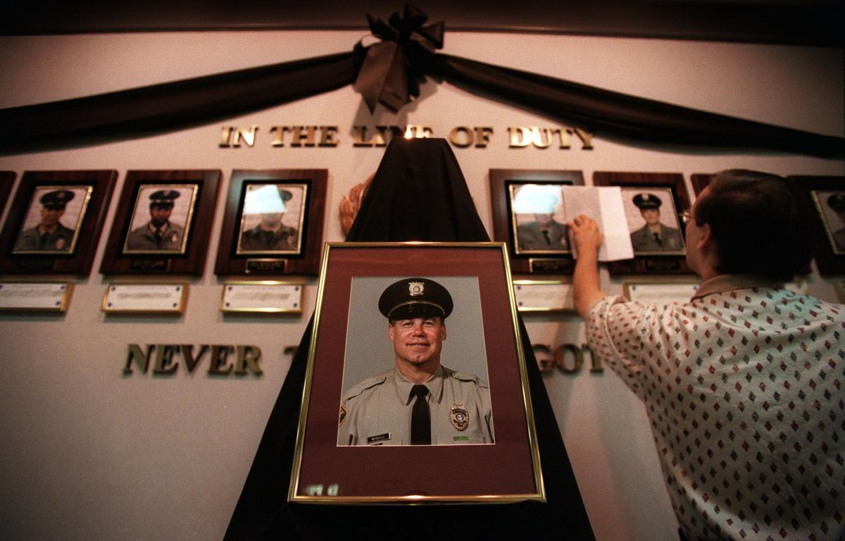 Officer's last act was selfless