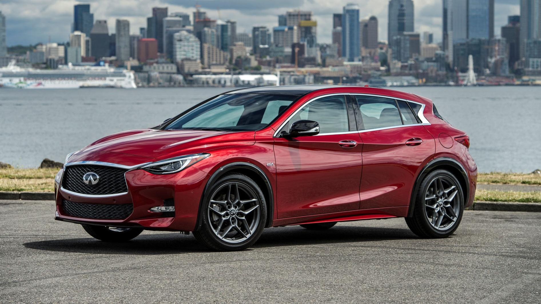 2018 Infiniti QX30: We drove a Sport, which is appropriately named